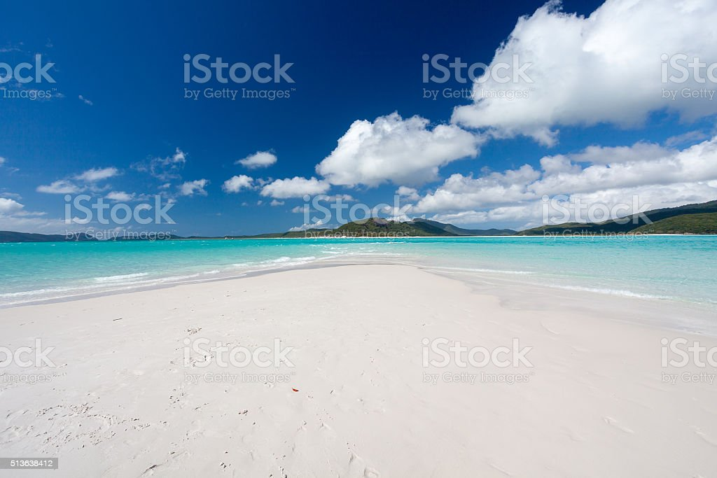 Whitsunday Islands stock photo