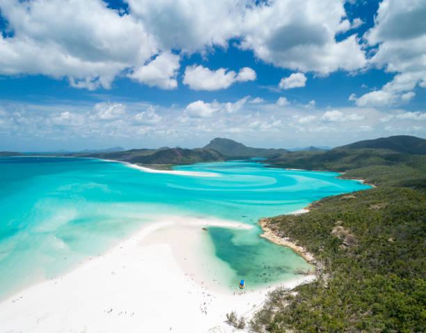 Whitsunday Islands, Queensland, Australia stock photo
