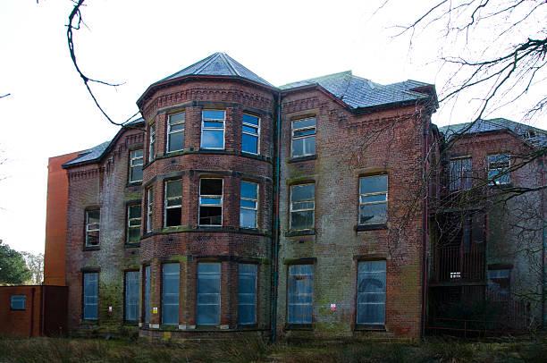 whittingham hôpital psychiatrique - hopital psychiatrique photos et images de collection