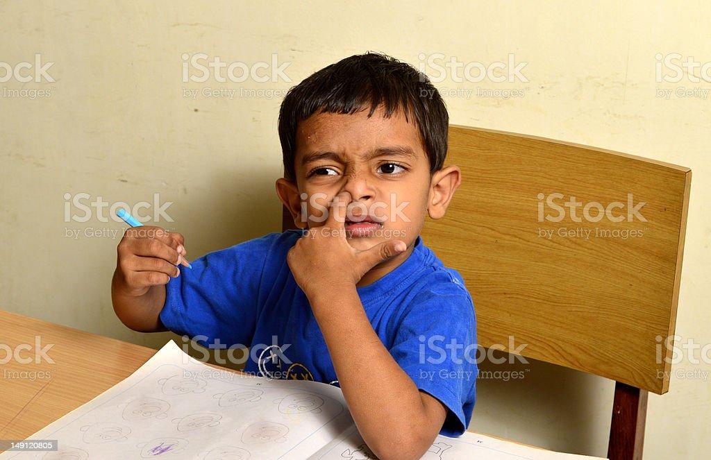 whiz kid royalty-free stock photo