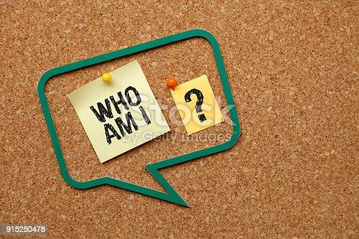 istock Who am i 915250478
