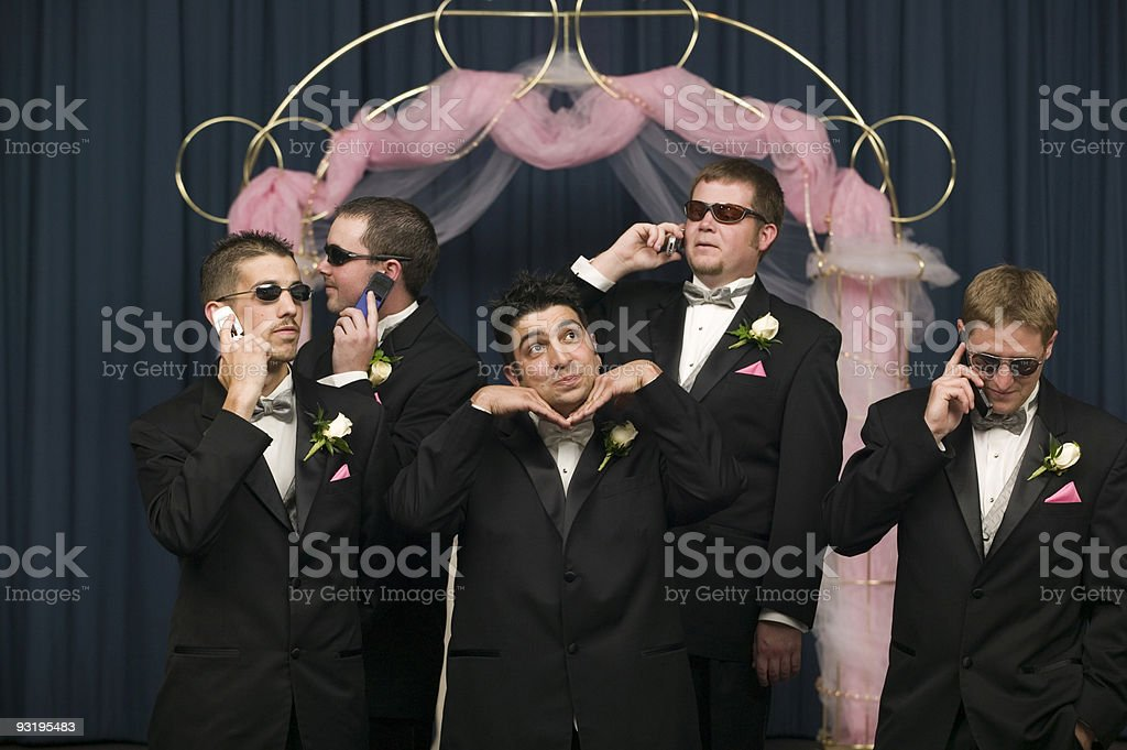 Who cares about the groom? stock photo