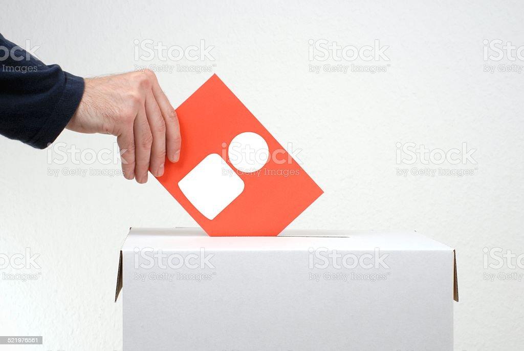 Who do you vote stock photo