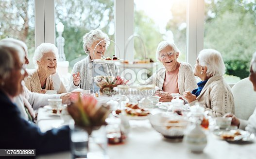 1053414472istockphoto Who doesn't love a good catch up over tea? 1076508990