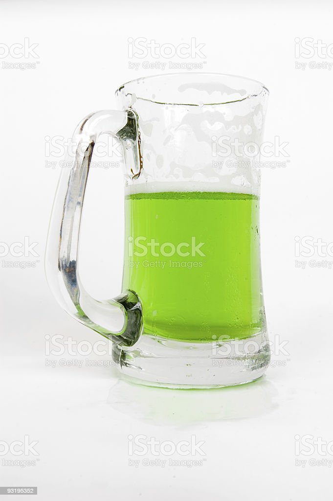 Who Drank my Green Beer? stock photo
