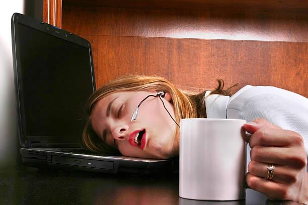 who gave her decaf?!? - coffe with death bildbanksfoton och bilder