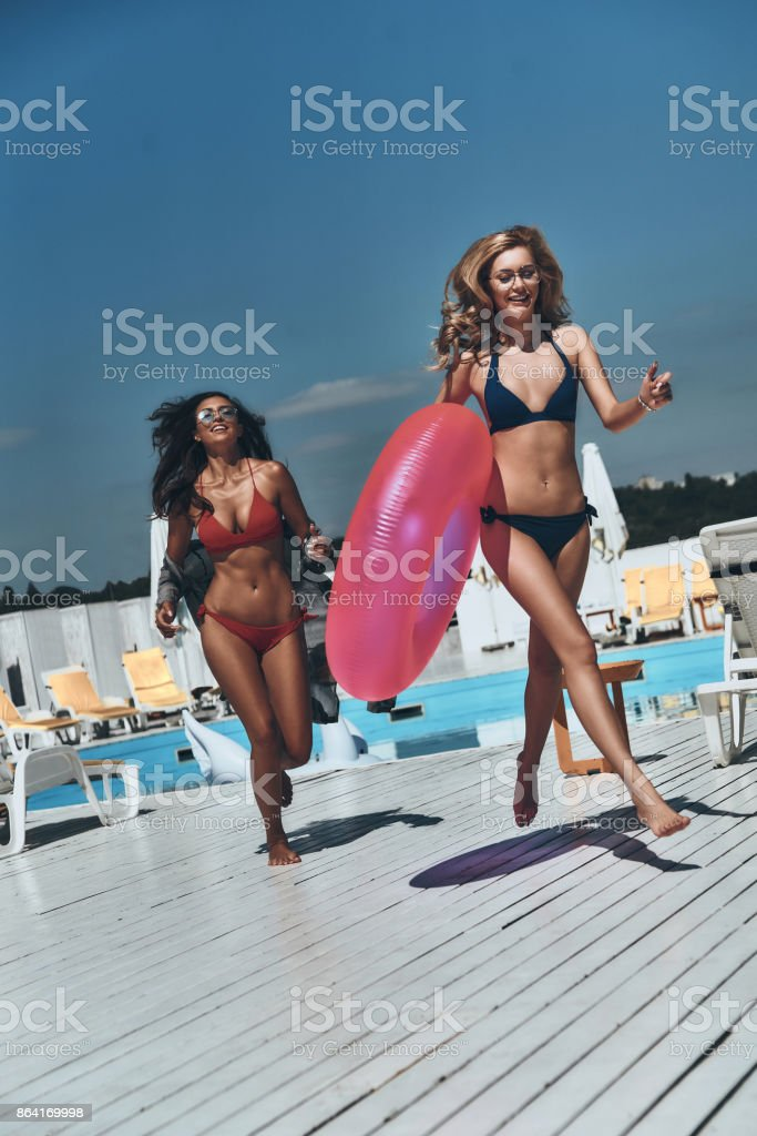 Who is going to be first? royalty-free stock photo