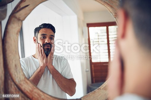 istock Who is this man I've become? 643310558