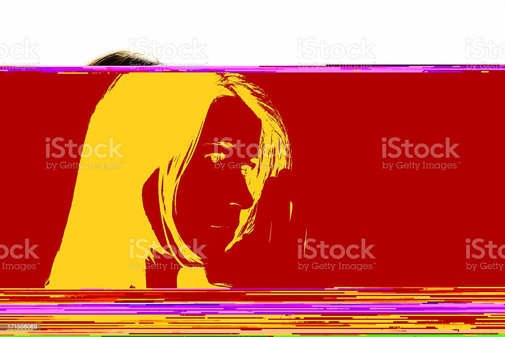Who Knows royalty-free stock photo