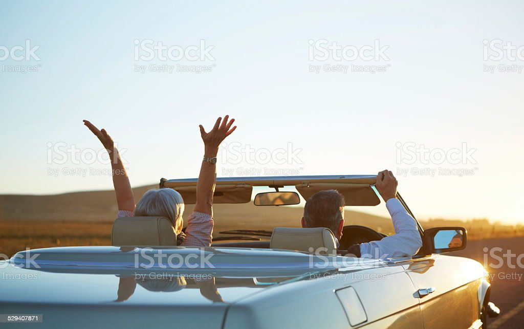 Who knows where the road will take us? stock photo