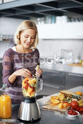 512979895istockphoto Who needs multivitamins when I make my own? 525153901