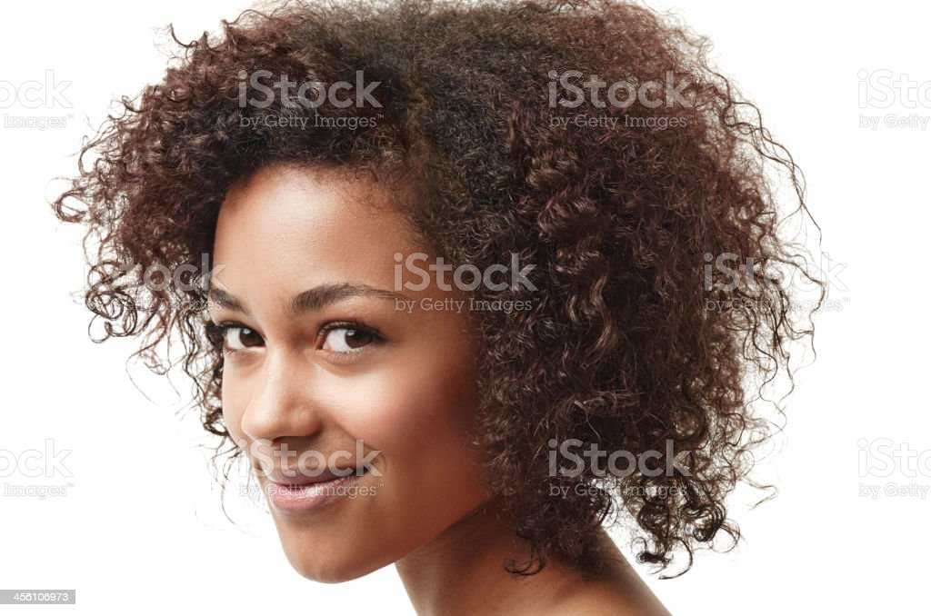 Who needs to be artificial, I'm all about going natural! stock photo