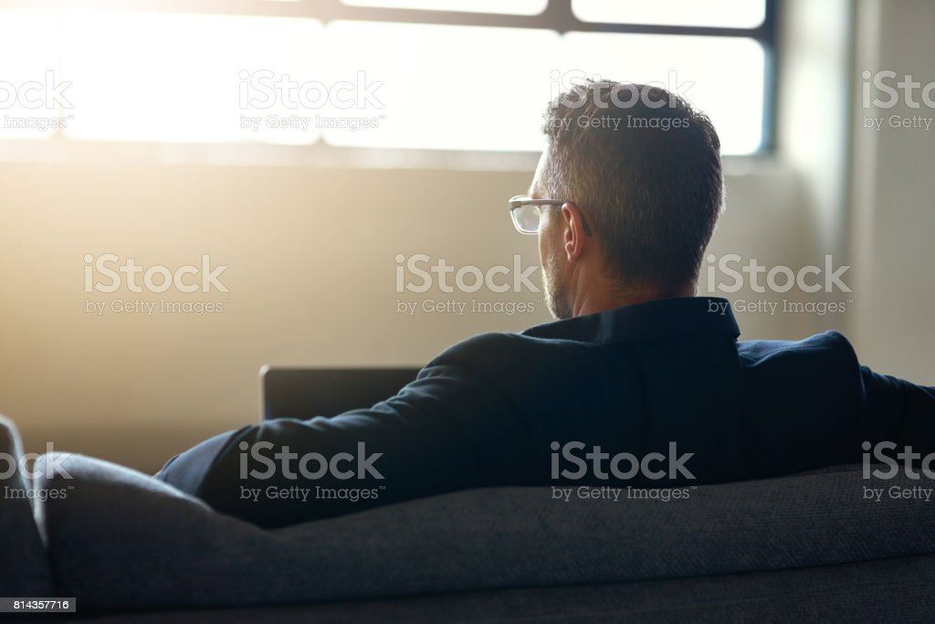 Who said office chairs had to be uncomfortable? stock photo