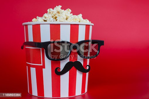 istock Who want like on social network should take a pic with me concept. Full length photo of cool nice beautiful interesting container salty or sweet caramel maximum size bag isolated bright background 1169893384