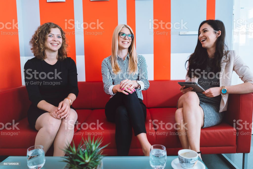 Who will get the job? stock photo