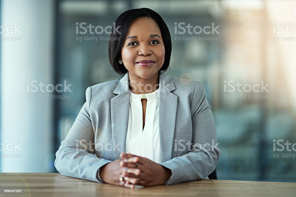 Who will stop me? stock photo