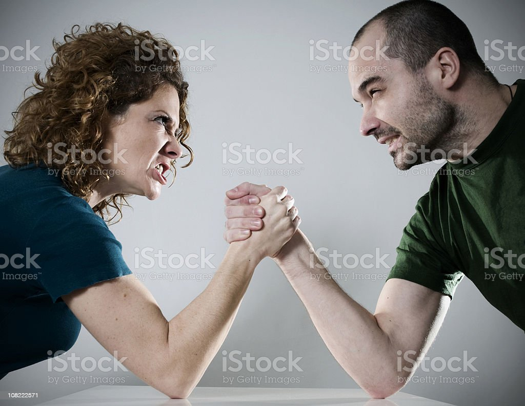 who won? royalty-free stock photo