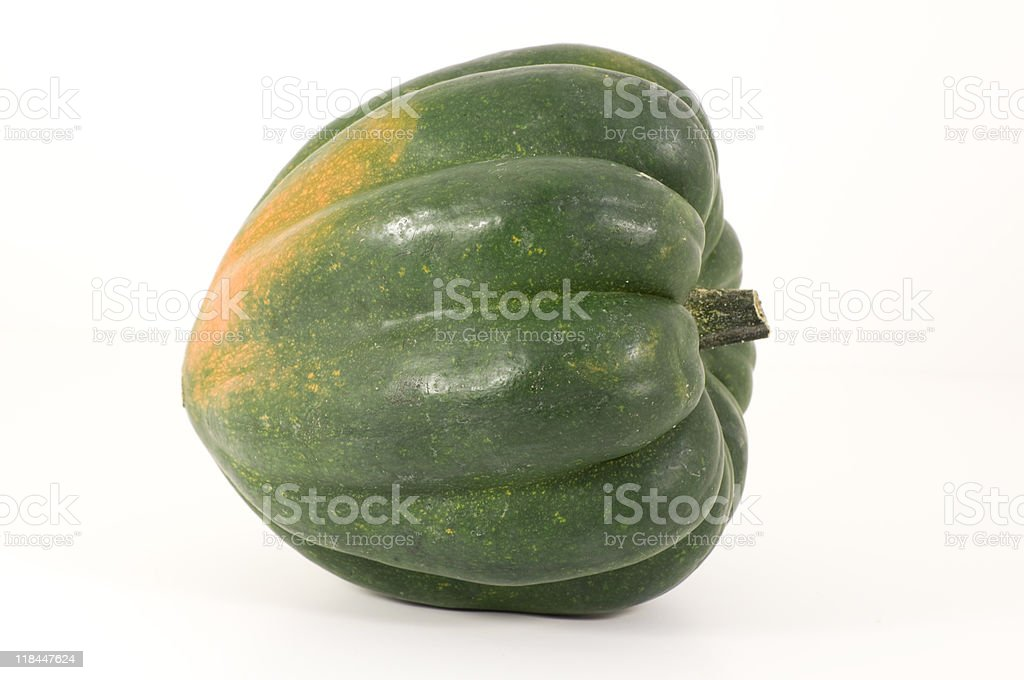 Whole Acorn Squash royalty-free stock photo