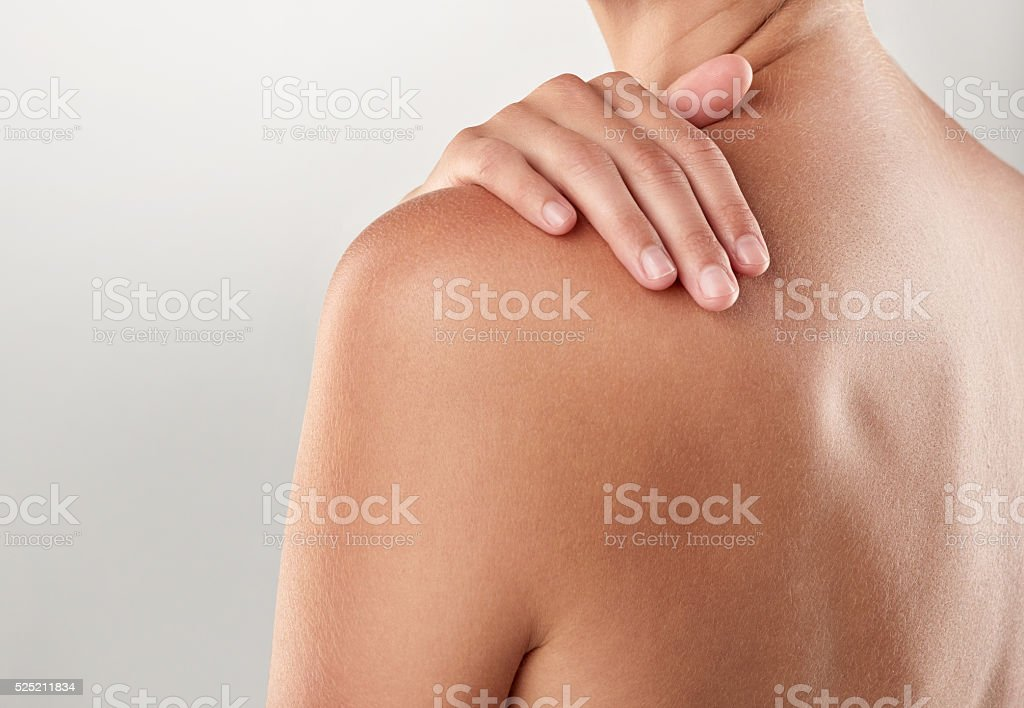 Whole body softness stock photo