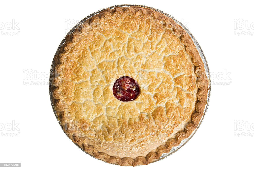 Whole cherry pie overhead stock photo more pictures of above bing cherry cherry cherry pie dessert food forumfinder Choice Image