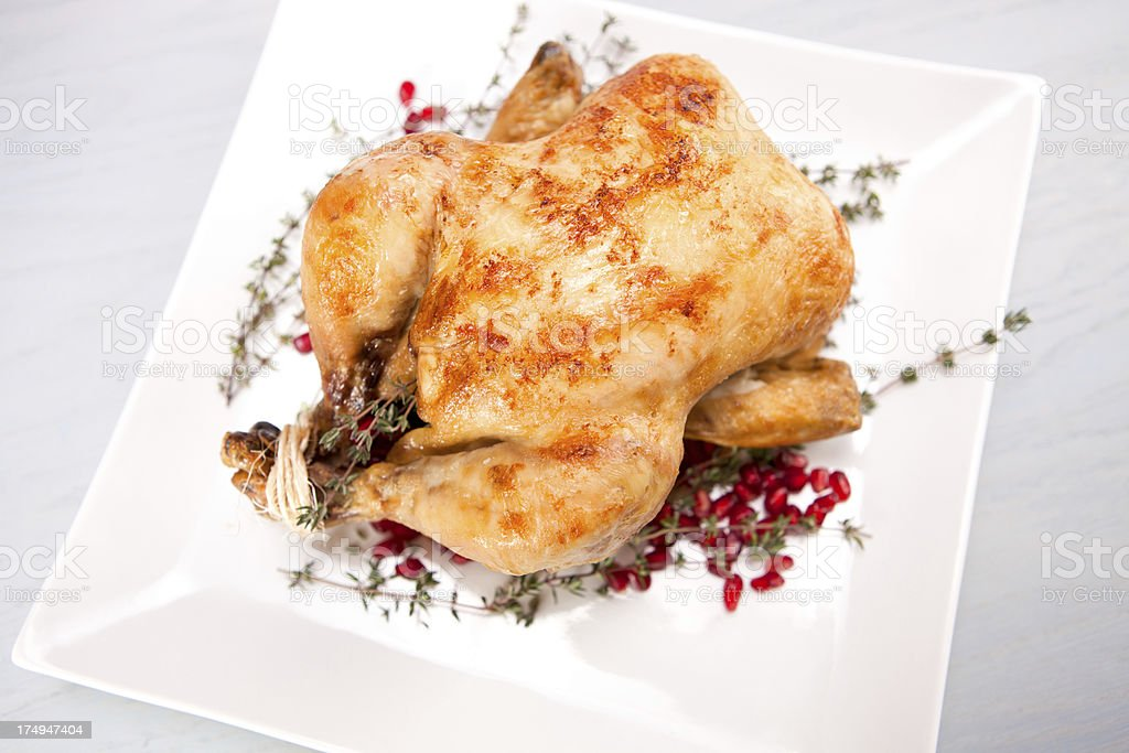 Whole Chicken royalty-free stock photo