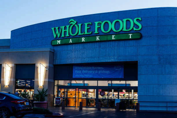 Whole Foods Market. Despite Amazon's push for price cuts at Whole Foods, the chain remains the highest priced grocer I Las Vegas - Circa June 2019: Whole Foods Market. Despite Amazon's push for price cuts at Whole Foods, the chain remains the highest priced grocer I despite stock pictures, royalty-free photos & images