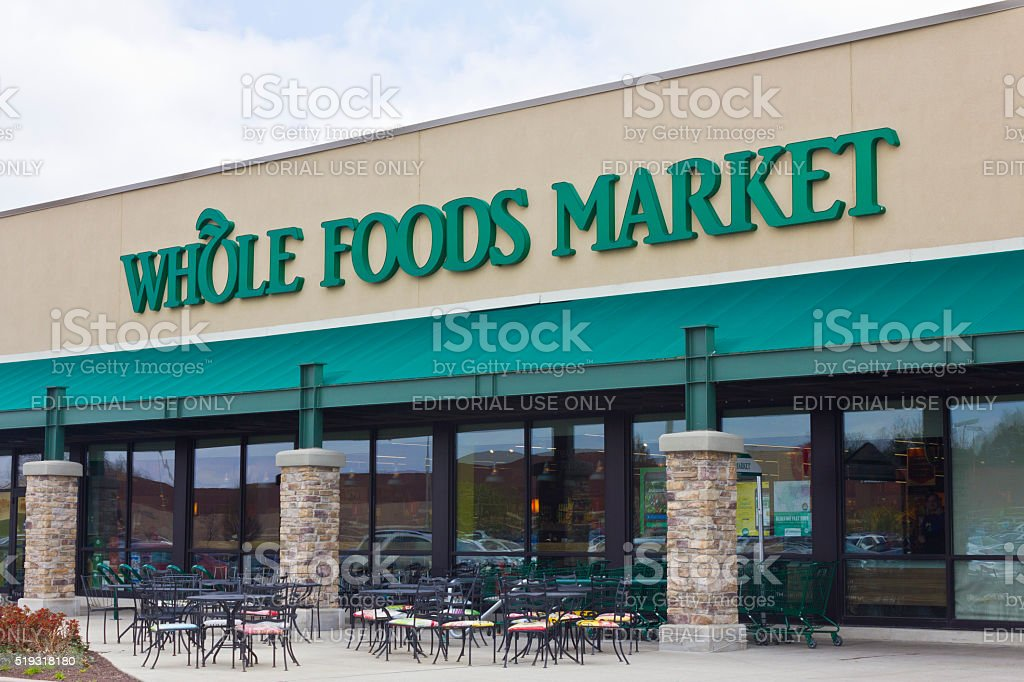 Indianapolis - April 2016: Whole Foods Market I stock photo