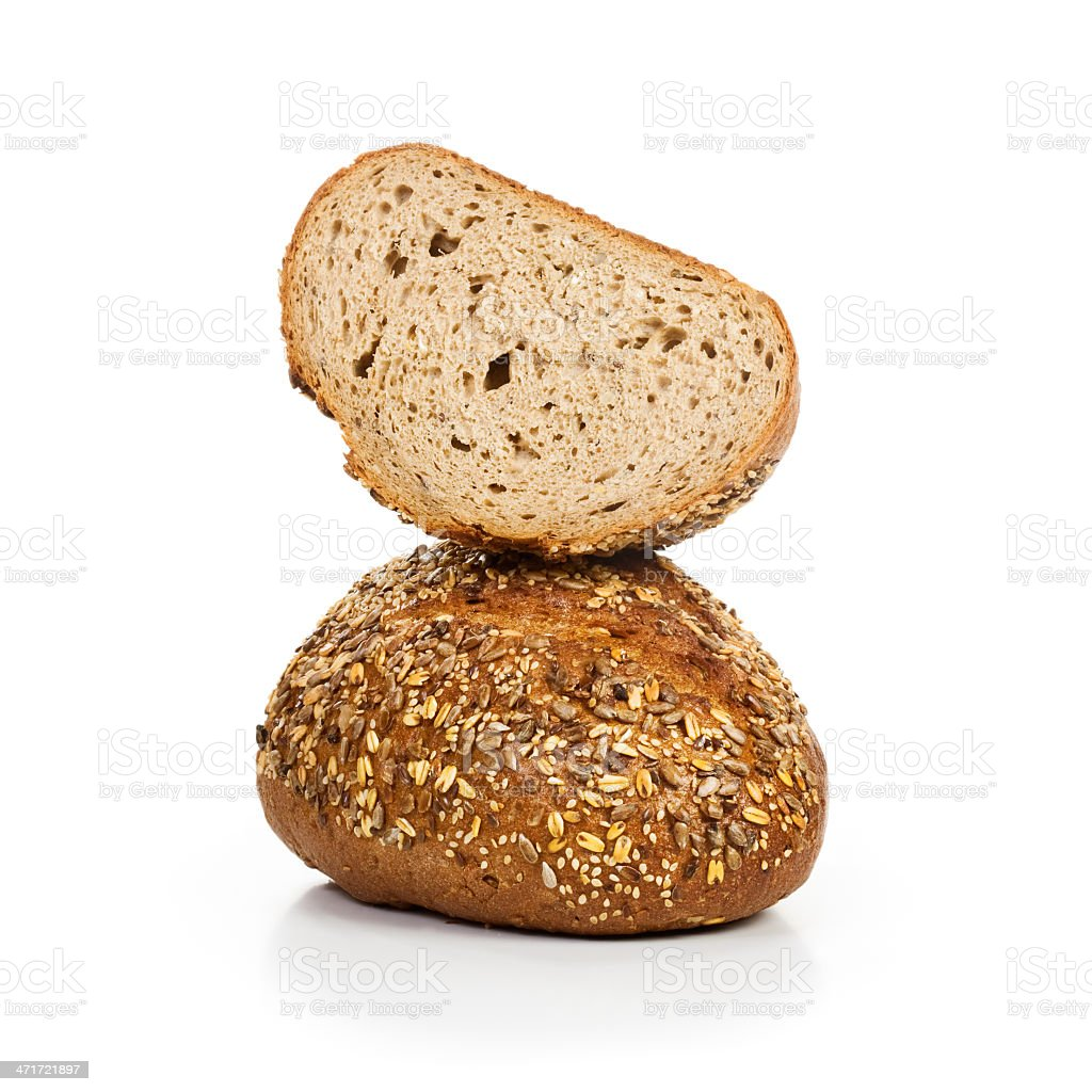 Whole grain Bread royalty-free stock photo