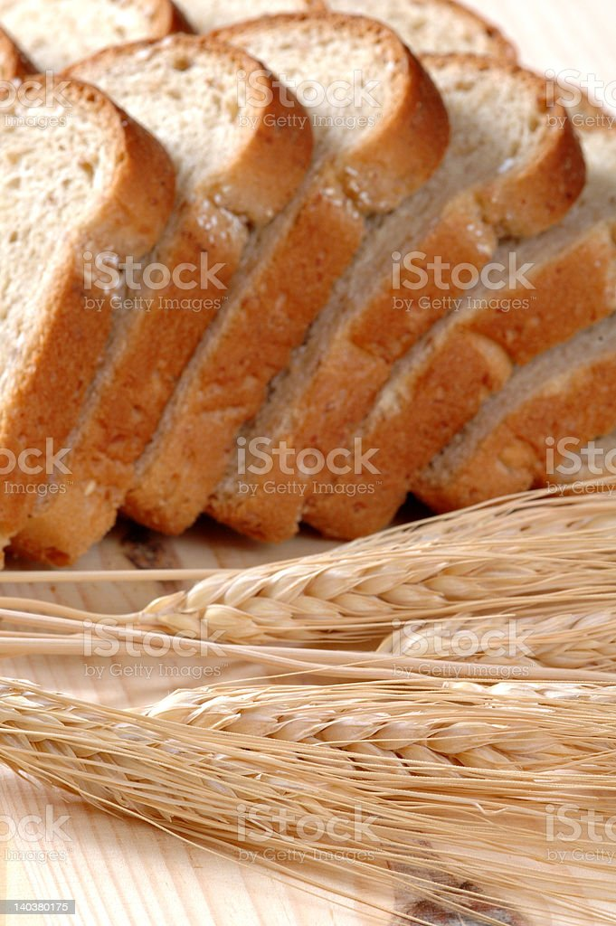 Whole Grain Foods royalty-free stock photo