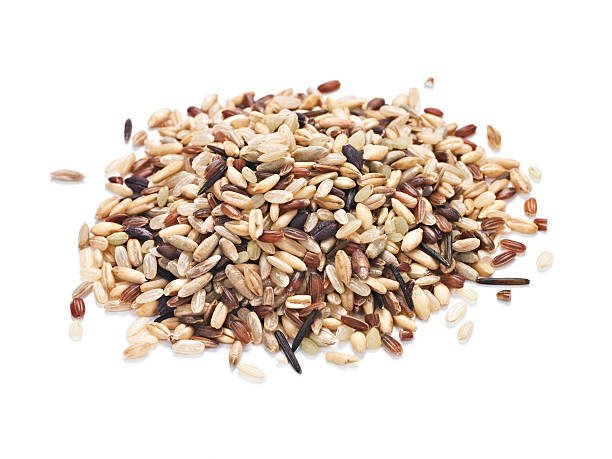 Whole Grain Mix stock photo