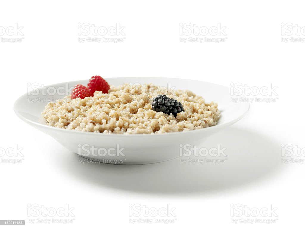 Whole Grain Porridge royalty-free stock photo
