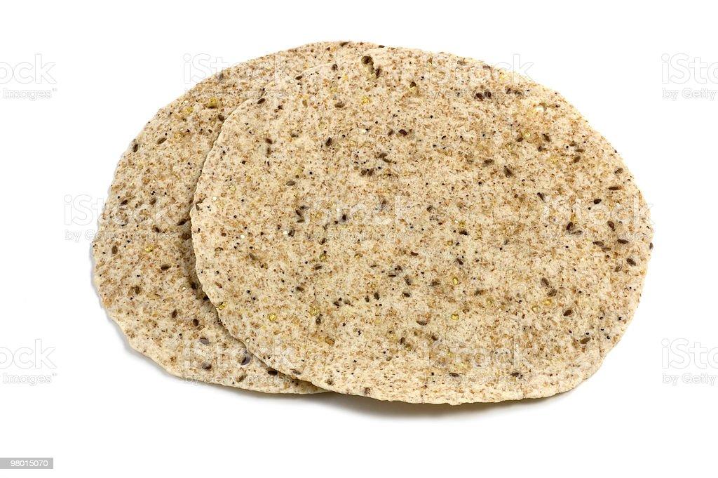 Whole grain tortillas stock photo