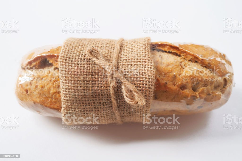 Whole grain wheat hot dog buns royalty-free stock photo