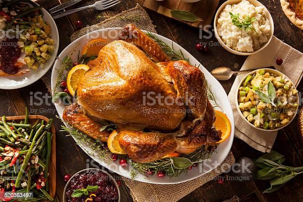 Photo of Whole Homemade Thanksgiving Turkey