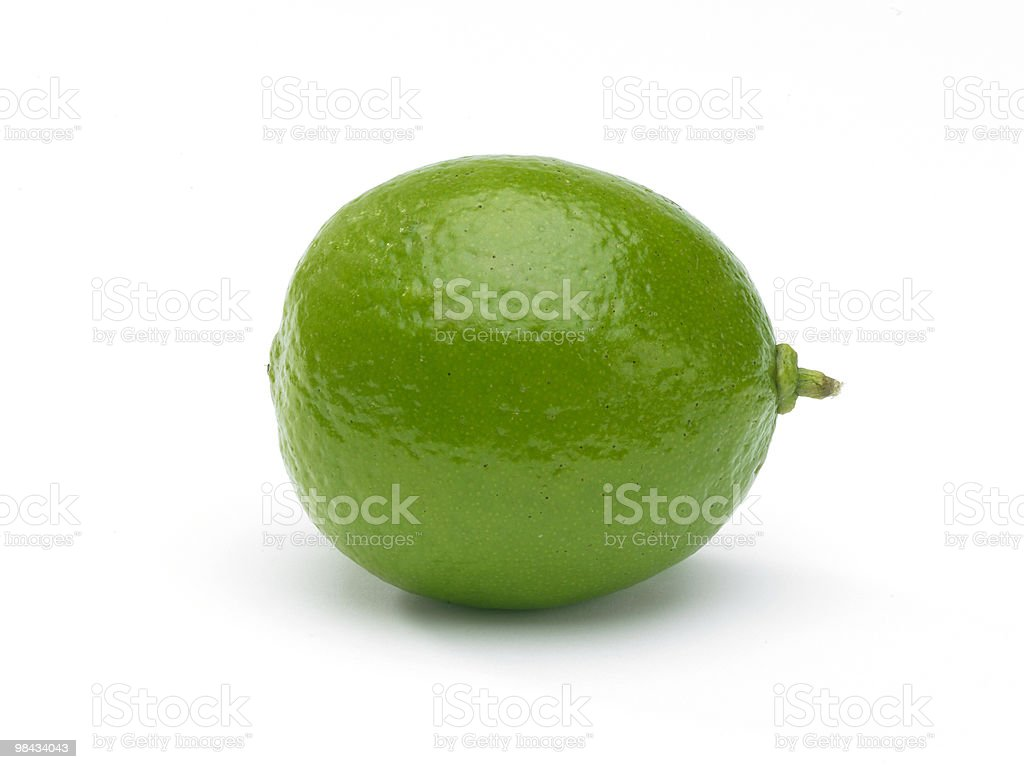 Whole Lime royalty-free stock photo