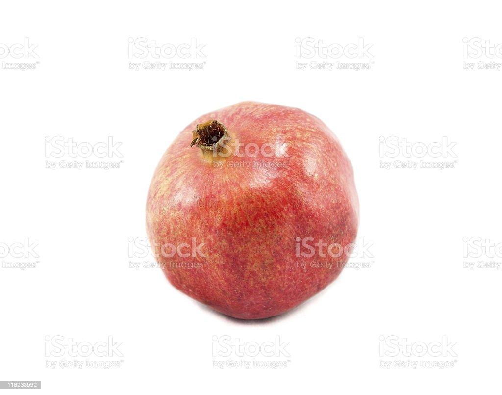 Whole Pomegranate stock photo