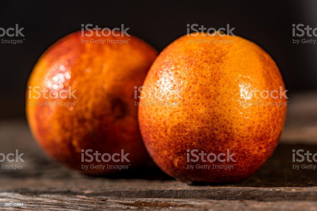 Whole ripe juicy Sicilian Blood oranges - Royalty-free Alcohol Stock Photo