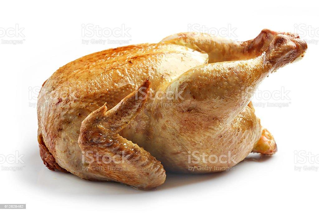 Conjunto de pollo asado foto de stock libre de derechos