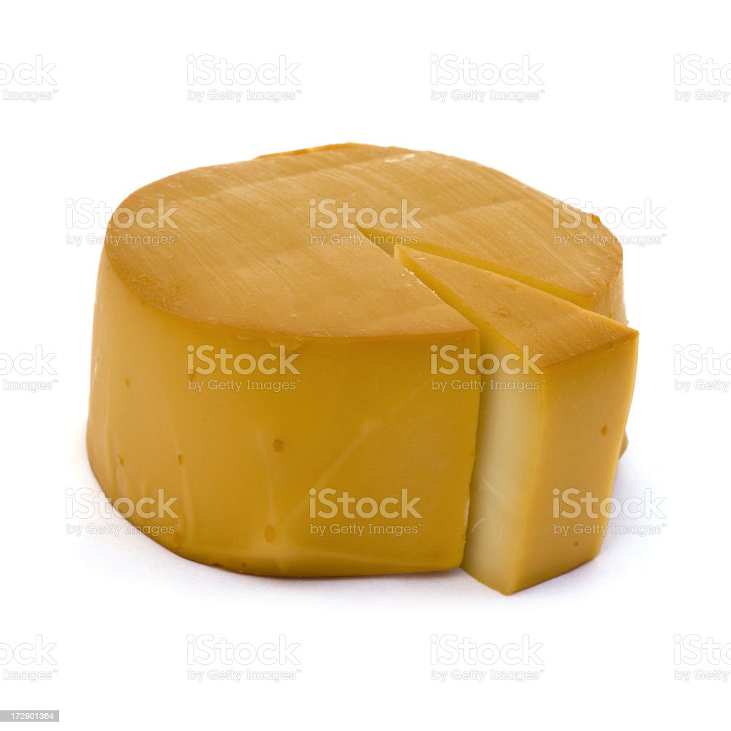 Whole Round Cheese - Mozzarella royalty-free stock photo