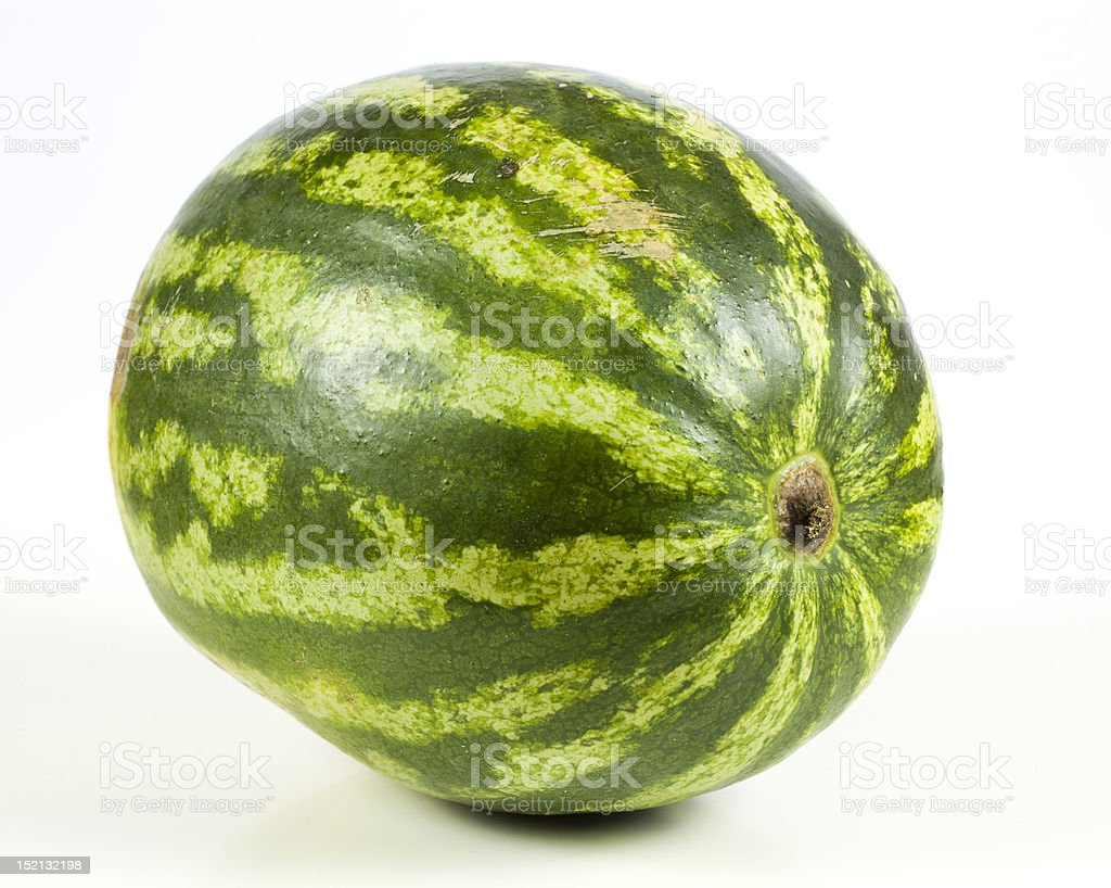 whole water melon stock photo