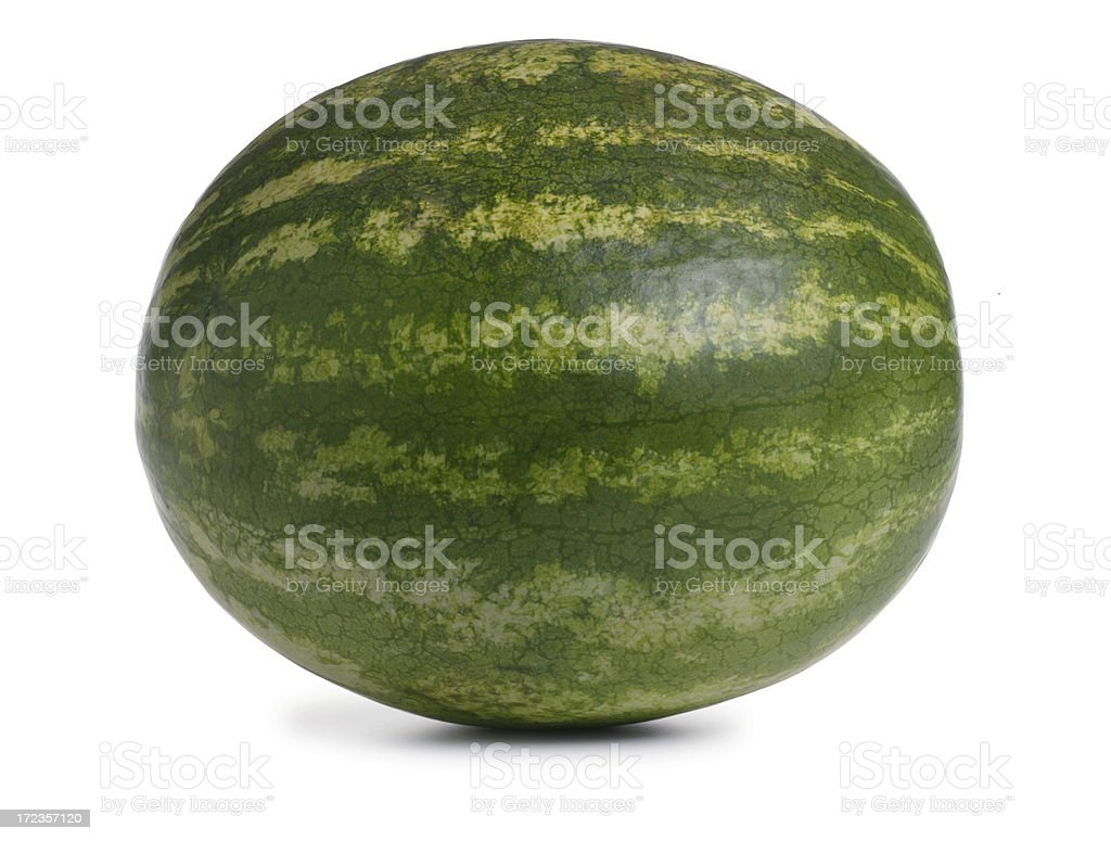 Whole Watermelon royalty-free stock photo