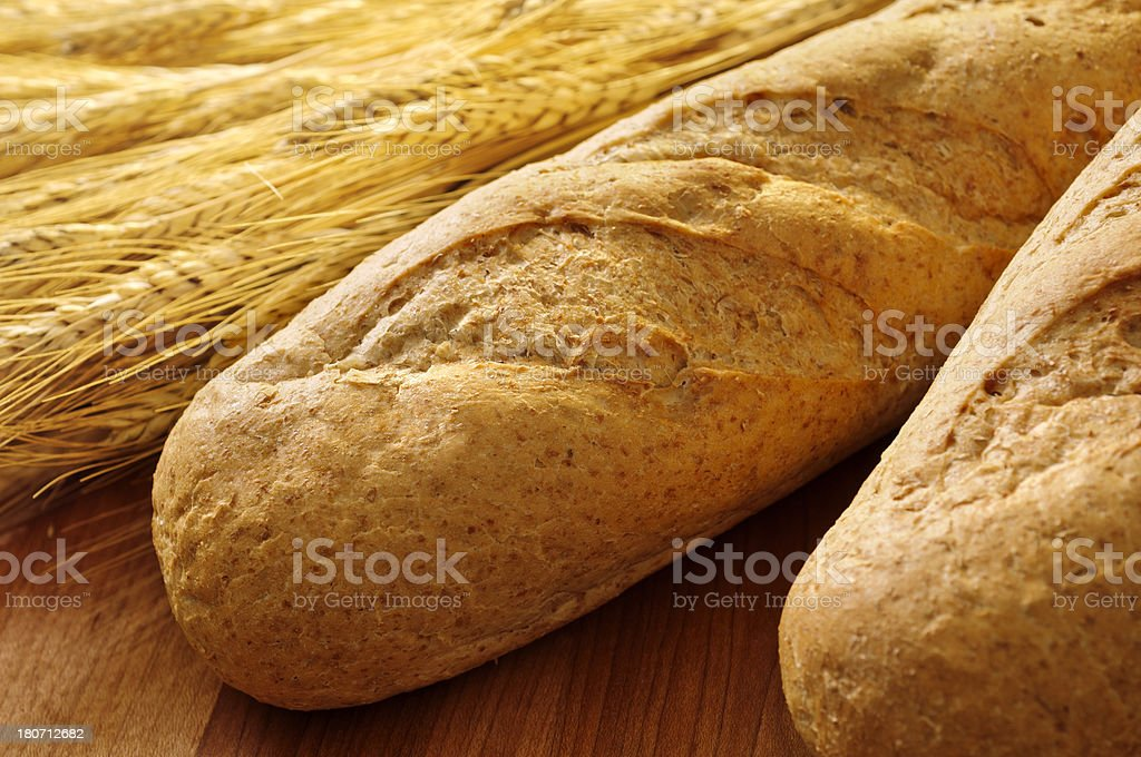 Whole Wheat Bread royalty-free stock photo