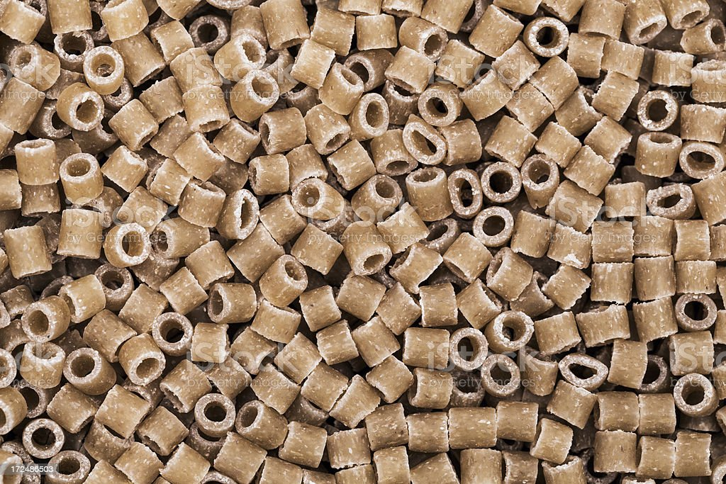 Whole wheat noodles royalty-free stock photo