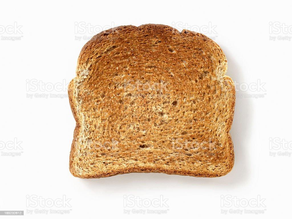 Whole Wheat Toast stock photo