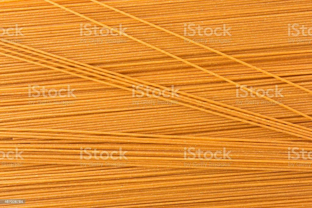 Wholegrain Spaghetti background Wholegrain Spaghetti Textured Background 2015 Stock Photo