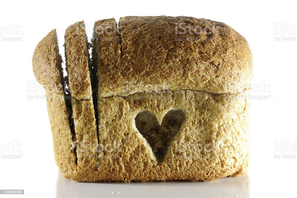 Wholemeal bread goodness royalty-free stock photo
