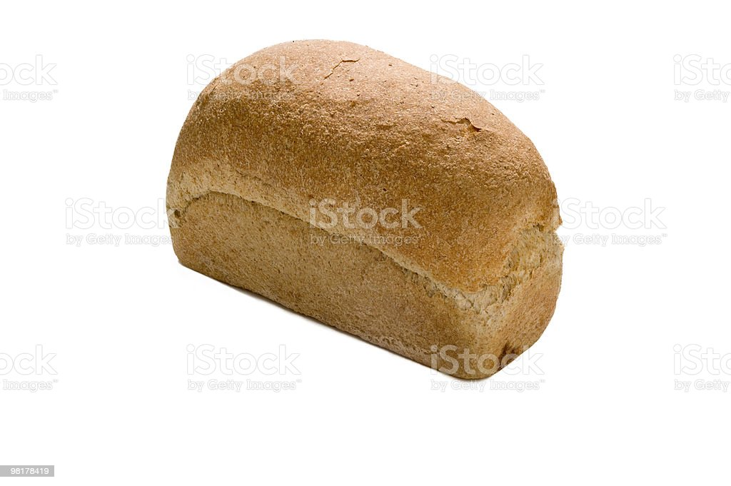 Wholemeal 식빵 royalty-free 스톡 사진