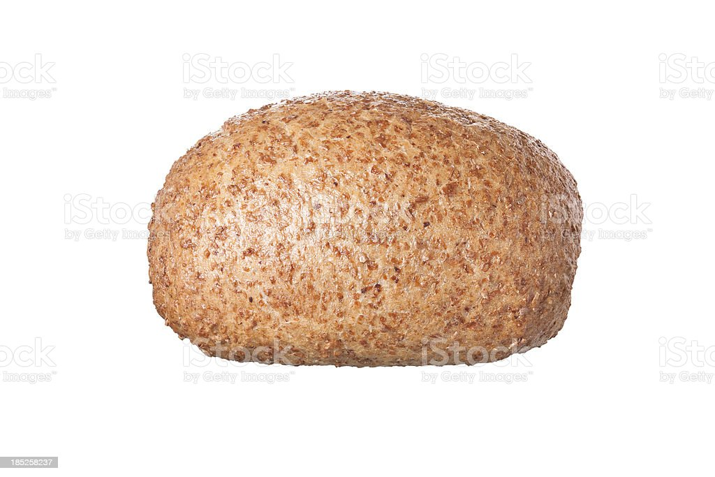 Wholemeal roll stock photo