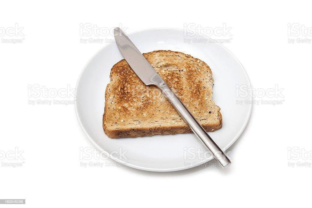 Wholemeal toast royalty-free stock photo