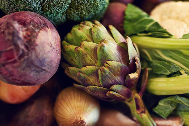 Gesunde Zutaten für eine herzhafte Mahlzeit – Foto